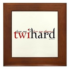 Twihard Framed Tile