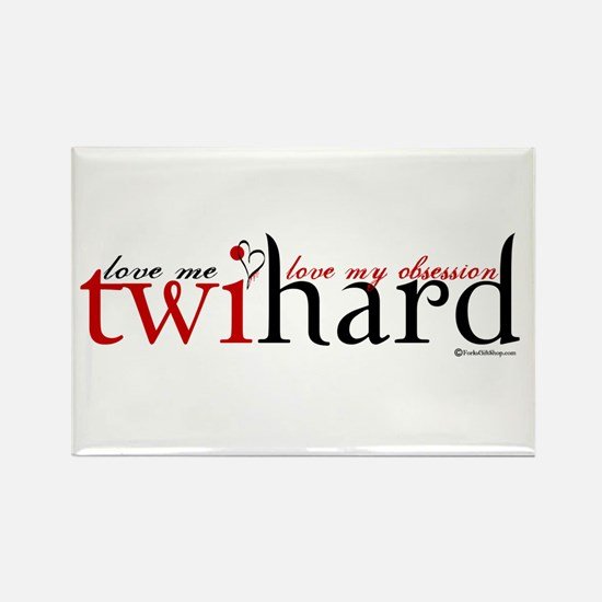 Twihard Rectangle Magnet