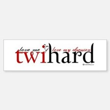 Twihard Bumper Car Car Sticker
