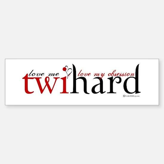 Twihard Bumper Car Car Sticker
