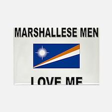 Marshallese Men Love Me Rectangle Magnet