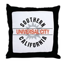 Universal City California Throw Pillow