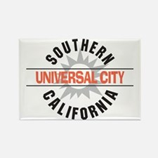 Universal City California Rectangle Magnet