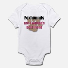 Foxhounds woman's best friend Infant Bodysuit