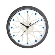 Haywire Small Wall Clock (blue)