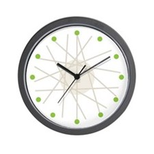 Haywire Small Wall Clock (green)