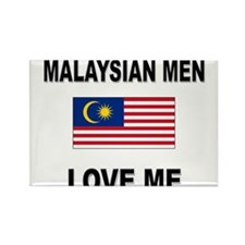 Malaysian Men Love Me Rectangle Magnet