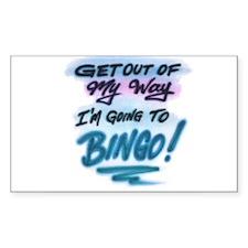 Bingo Rectangle Decal
