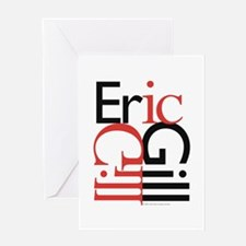 Eric Gill Greeting Card