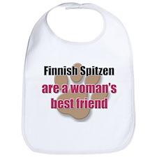 Finnish Spitzen woman's best friend Bib