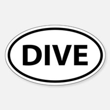 DIVE Oval Decal