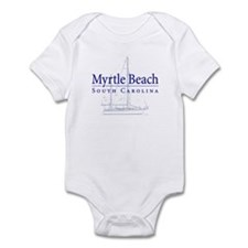 Myrtle Beach Sailboat - Infant Bodysuit