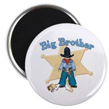 Lil Sheriff Big Brother Magnet