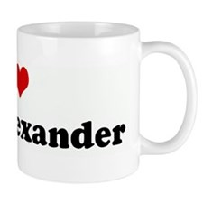 I Love Isiah Alexander Mug