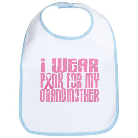 I Wear Pink For My Grandmother 16 Bib