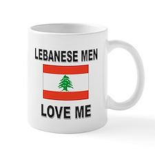 Lebanese Men Love Me Small Mug