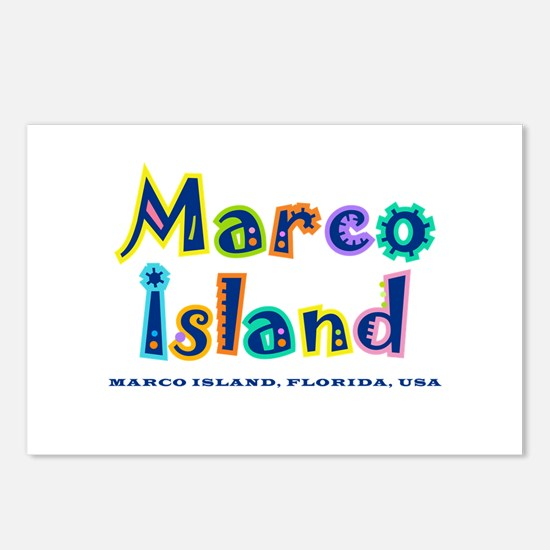 MB Tropical Type - Postcards (Package of 8)