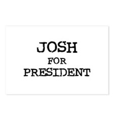 Josh for President Postcards (Package of 8)