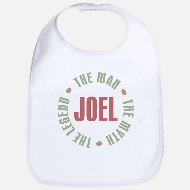 Joel Man Myth Legend Bib