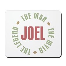 Joel Man Myth Legend Mousepad