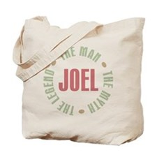 Joel Man Myth Legend Tote Bag