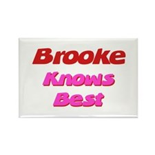 Brooke Knows Best Rectangle Magnet