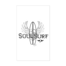 Soul Surf Rectangle Decal