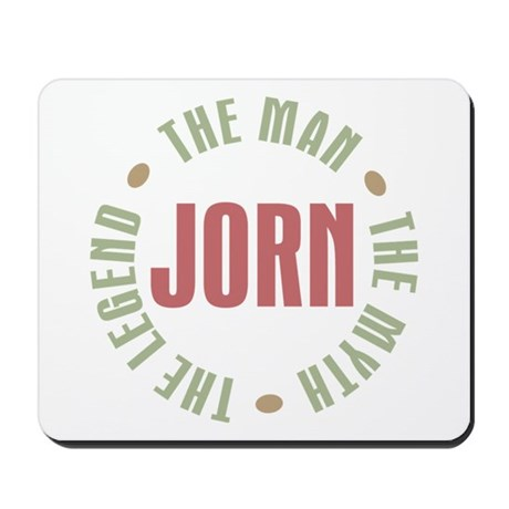 Jorn Man Myth Legend Mousepad