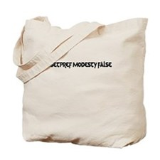 /Setpref Modesty False Tote Bag