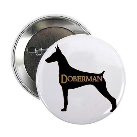 """Doberman 2.25"""" Button"""