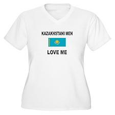 Kazakhstani Men Love Me T-Shirt
