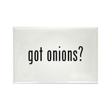got onions? Rectangle Magnet