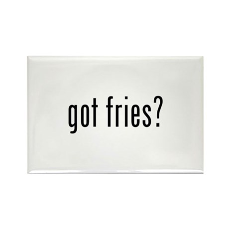 got fries? Rectangle Magnet (10 pack)
