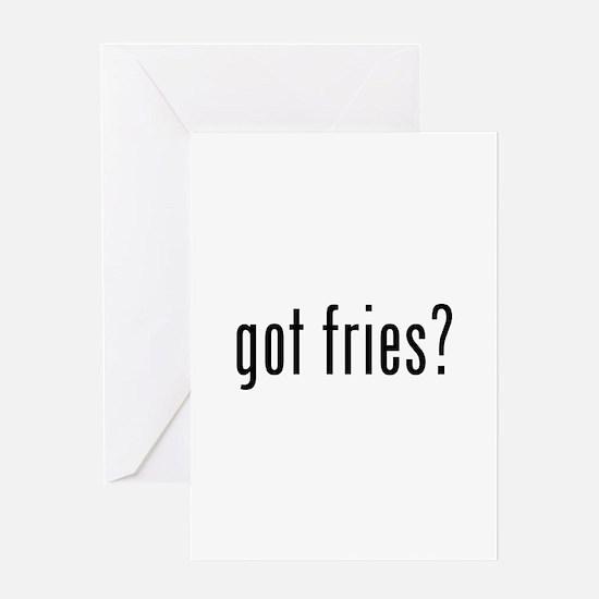 got fries? Greeting Card