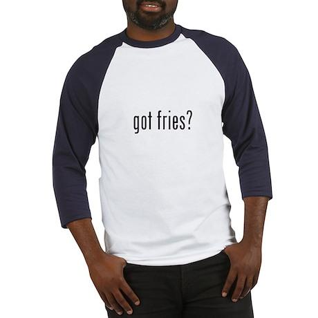 got fries? Baseball Jersey