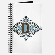 D Monogram Letter D Journal