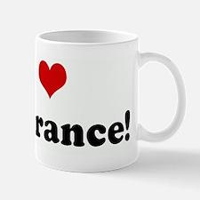 I Love Insurance! Small Small Mug