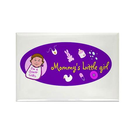 mommy's little girl Rectangle Magnet (100 pack)