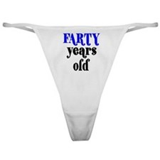 Farty Years Old Classic Thong