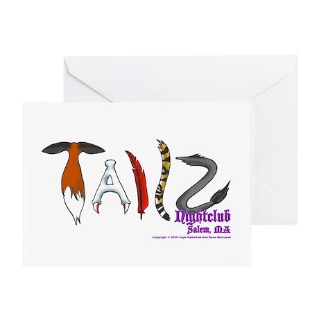 Tailz Greeting Card