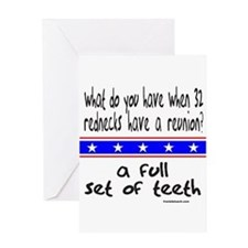 REDNECK REUNION Greeting Card