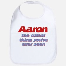 Aaron - The Cutest Ever Bib