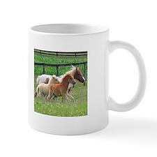 Three Mini Horses Running Mug