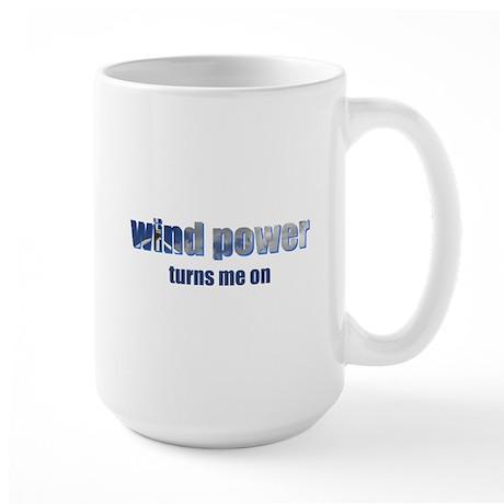 Wind Power Large Mug