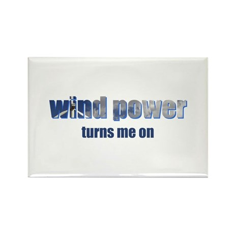 Wind Power Rectangle Magnet (10 pack)
