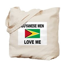 Guyanese Men Love Me Tote Bag