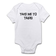 Take me to Taipei Infant Bodysuit
