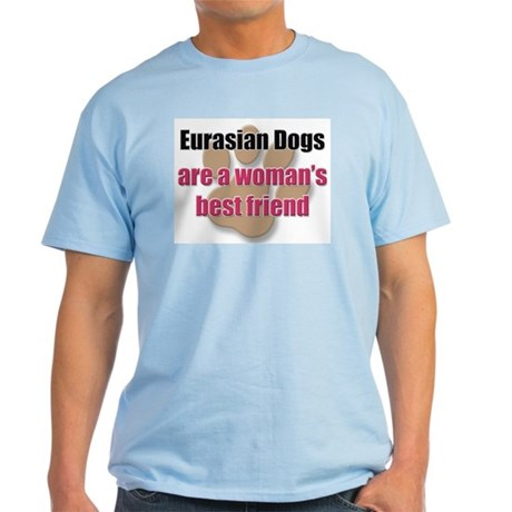 Eurasian Dogs woman's best friend Light T-Shirt