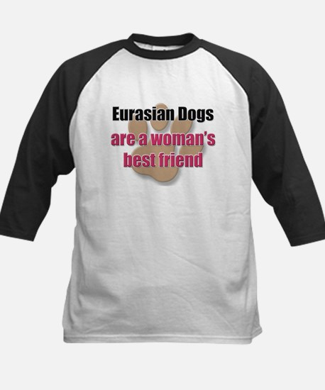Eurasian Dogs woman's best friend Kids Baseball Je