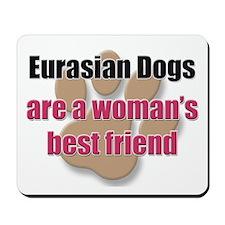 Eurasian Dogs woman's best friend Mousepad